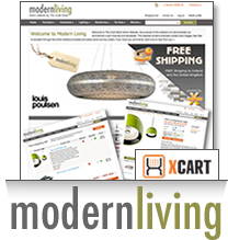 Modern Living X-Cart Template