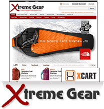 xtreme Gear X-Cart template