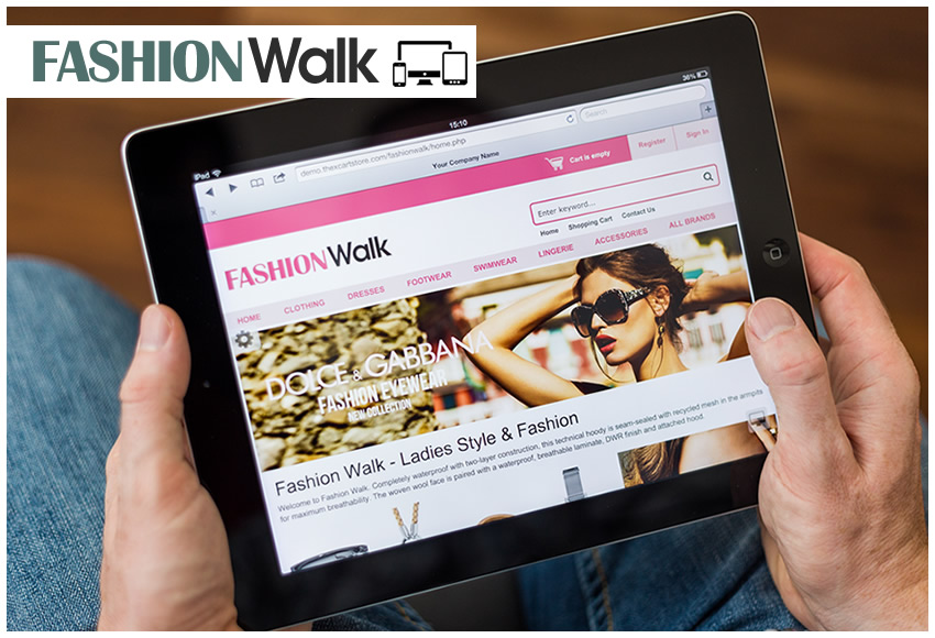 Responsive x-cart theme - Fashion Walk