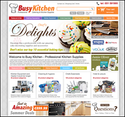 Busy Kitchen xcart template