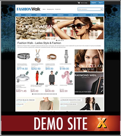 xBanner Demo Website for x-cart