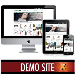 Fashion Walk CSS X-Cart Template Live Demo Website