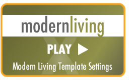 Modern Living - CSS template for x-cart