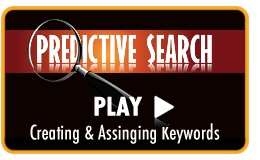 Play Video Tutorial - Adding keywords to your Assigned List