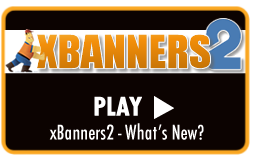 Play Video Tutorial - All New xBanner2