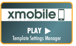 Play Video Tutorial - xMobile admin settings